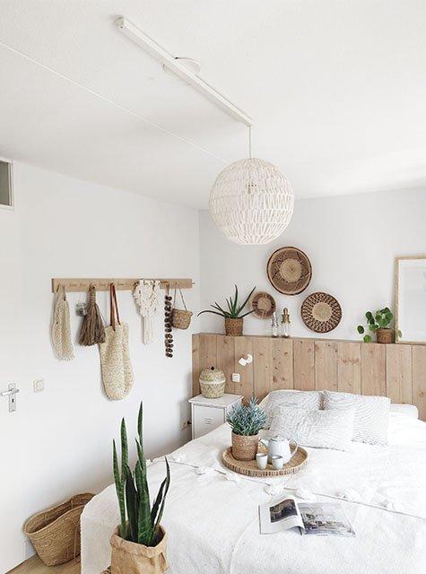 Chambre à coucher Lightswing (Single blanc mat)