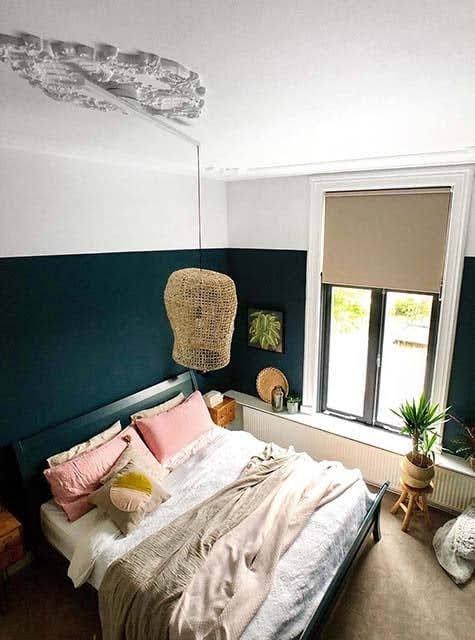 Ornament Lightswing Chambre à coucher (Single blanc mat)