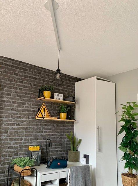 Poste de travail Lightswing (Single Blanc Mat)